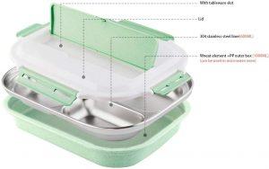 bento box acier inoxydable